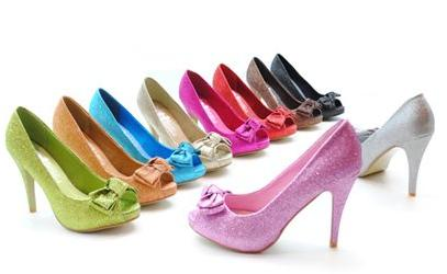 colores zapatos mujer