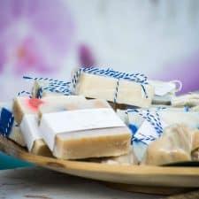 jabón y ácido esteárico