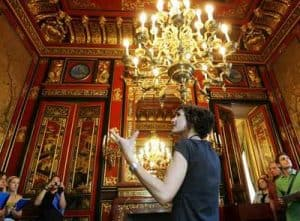 Las sicofonías del Palacio de Linares