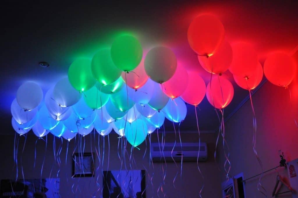 decora una fiesta con globos de helio