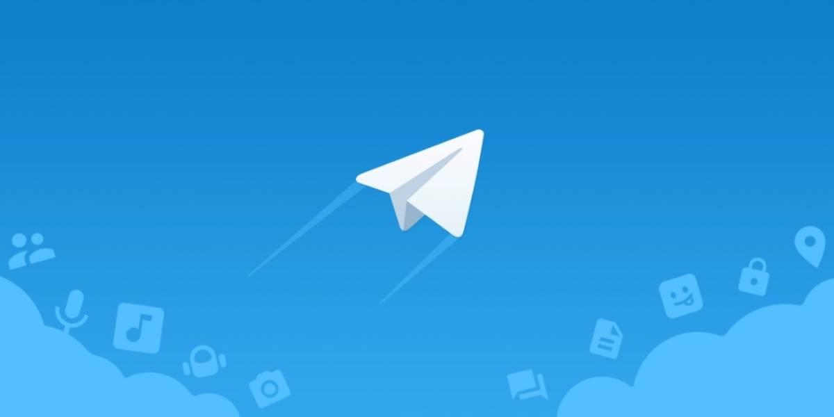 sistema de mensajeria telegram