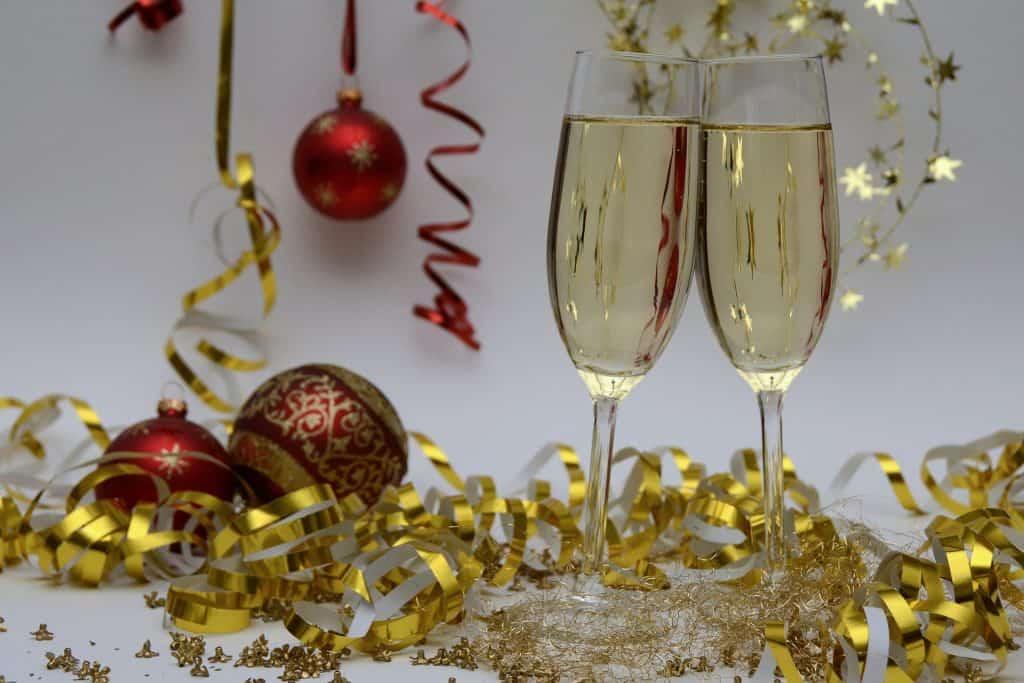champagne--navidad