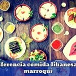 diferencias comida libanesa y marroquí