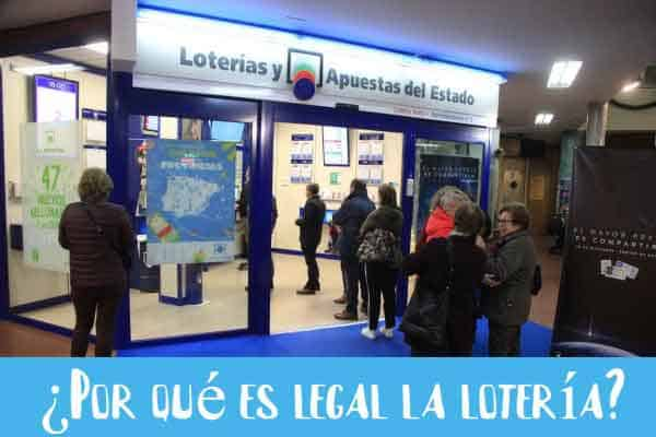 por que es legal la loteria